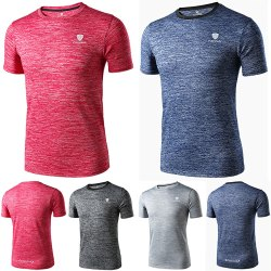 Round Neck Dry Fit Active Gym T Shirt