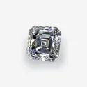 Asscher Cut DEF Moissanite Diamond