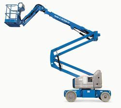 Battery Operated Articulated Boom Lift for Construction, Capacity: 500kg to 1000kg