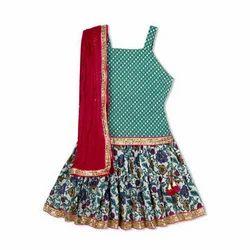 Kid 1 Girl Ghaghra Choli Set