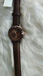 Brown Analog Watch