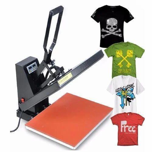 e11a90af Multicolor Promotional T-Shirt Printing Machine, Capacity: 1-50 Pieces/hour