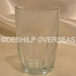 Deshilp Overseas Clear Cut Water Glass, Size: More Size Available