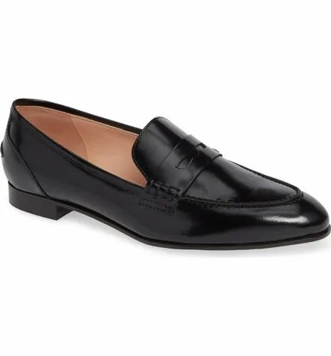 Italian Leather Women Casual Penny Loafers Shoes, Packaging