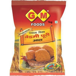 GM Foods 1 kg Masala Mix Bedmi Puri Wheat Atta, Packaging: Packet