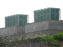 Timber Cross Flow Cooling Tower