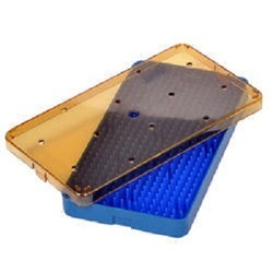 Big Medium Plastic Sterilization Tray with Single Mat
