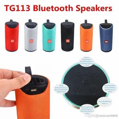 Jbl Portable Bluetooth Speaker (tg 113)