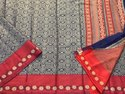 Kora Handloom Cotton Weaving Saree