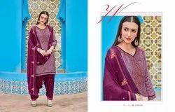 Kalaroop By Kaajree Saptrang By Patiyala Vol 5 Cotton Satin Print Suit