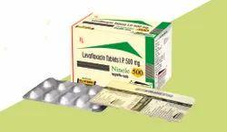 Levofloxacin 500mg   Lactic Acid bacillus 2.5ms