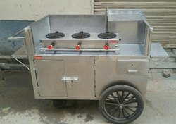Hand Pushed Momos Food Cart