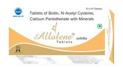 Biotin N Acetyl Cysteine Calcium Pantothenate With Minerals Tablets