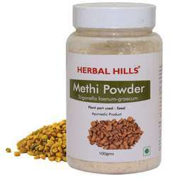Ayurvedic Methi Seeds Powder 100gms - Fenugreek - Sugar Level Management Supplement