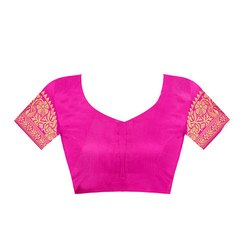 Pink Zari Blouse