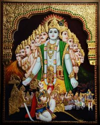 Vishwaroopam Tanjore Painting