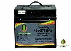 48V 30AH Lithium Ion battery