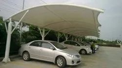 Steel Modular Parking Shed, For Out places