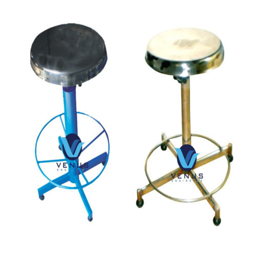 Excellent Stainless Steel Revolving Stools Venus Engineers Beatyapartments Chair Design Images Beatyapartmentscom