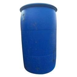 Cylindrical Blue Leak Proof Plastic Storage Drum, Capacity: 200 to 250 Litres