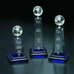 Globe Crystal Trophy