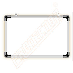 White & Green Writing Non Magnetic Board