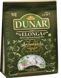 Dunar Elonga Extra Long Grain Basmati Rice