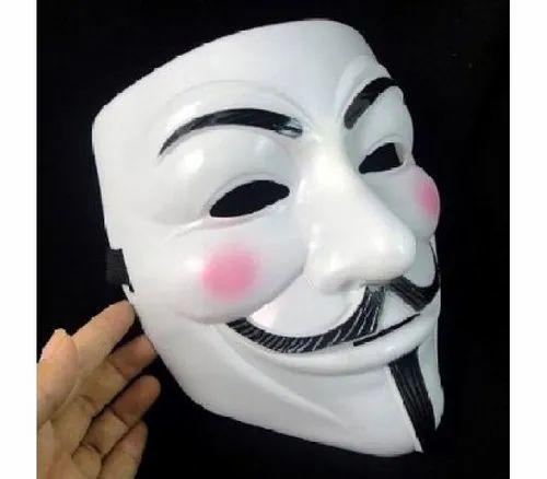 Plastic V For Vendetta Comic Face Mask Rs 200 Piece Patils
