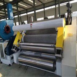 Semiautomatic fingerless Corrugation Machine