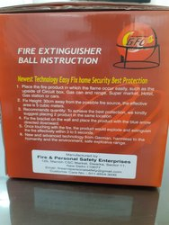 Automatic Fire Extinguisher Drum