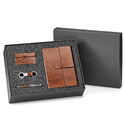 Brown Corporate Leather Gift Set For Gifting