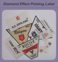 Diamond Effect Printed Label