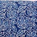 Hand Block Print Cotton Indigo Fabric