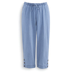 BASIC DENIM GAUCHOS