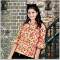 Ladies Floral Shirt