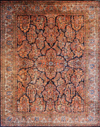 Sarouk Persian Rugs With The Most Elaborate Pattern