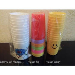Yahoo Plastic Drinking Glasses