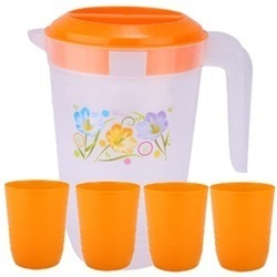 Plastic Jugs and Glasses