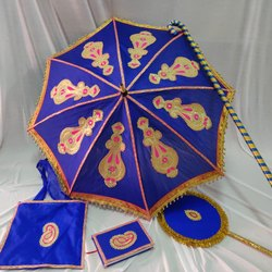 Kasiyatra Decorated Wedding Umbrella Set
