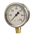 Push to Check Valve for Pressure Gauge