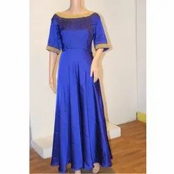 Designer Blue Long Gown