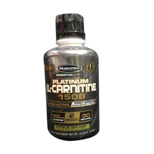 MuscleTech L Carnitine Post Workout Supplement,  Pack size: 500 G