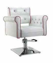 Modern White Salon Chair