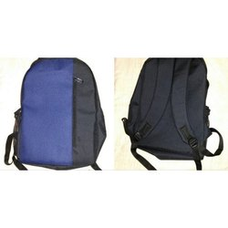Black and Blue Laptop Backpack