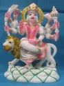 Decorative Marble Durga Statue
