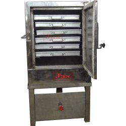 Live Dhokla Machine, Capacity: 6 to 24 Trays