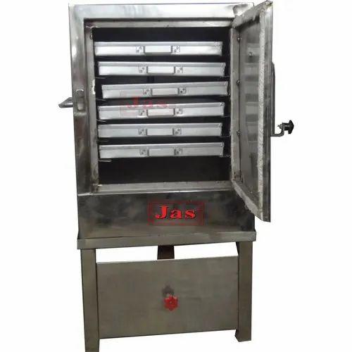 Live Dhokla Machine, Capacity: 6 to 24 Trays