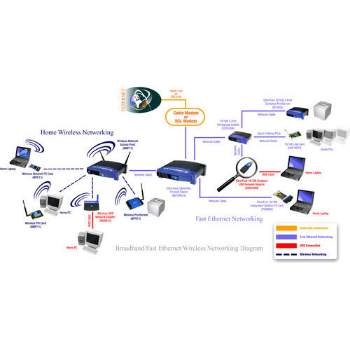 Wireless LAN Network Services