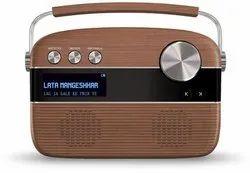 2.1 Oakwood Brown saregama carvaan hindi-portable music player with 5000 preloaded, Size: 27 X 17 X 8 Cm