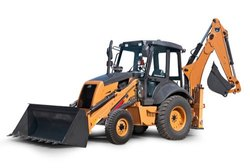 76 HP at 2200 rpm 5000 mm CASE Backhoe Loader, Backhoe Bucket Capacity: 0.2 cum, Loader Bucket Capacity: 1.0 cum